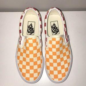 Primary Color Checkered Vans   Poshmark
